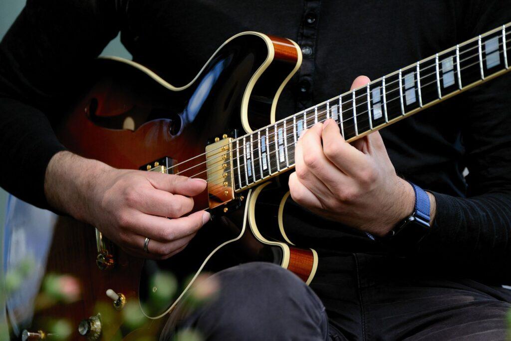 guitar, electric guitar, musician